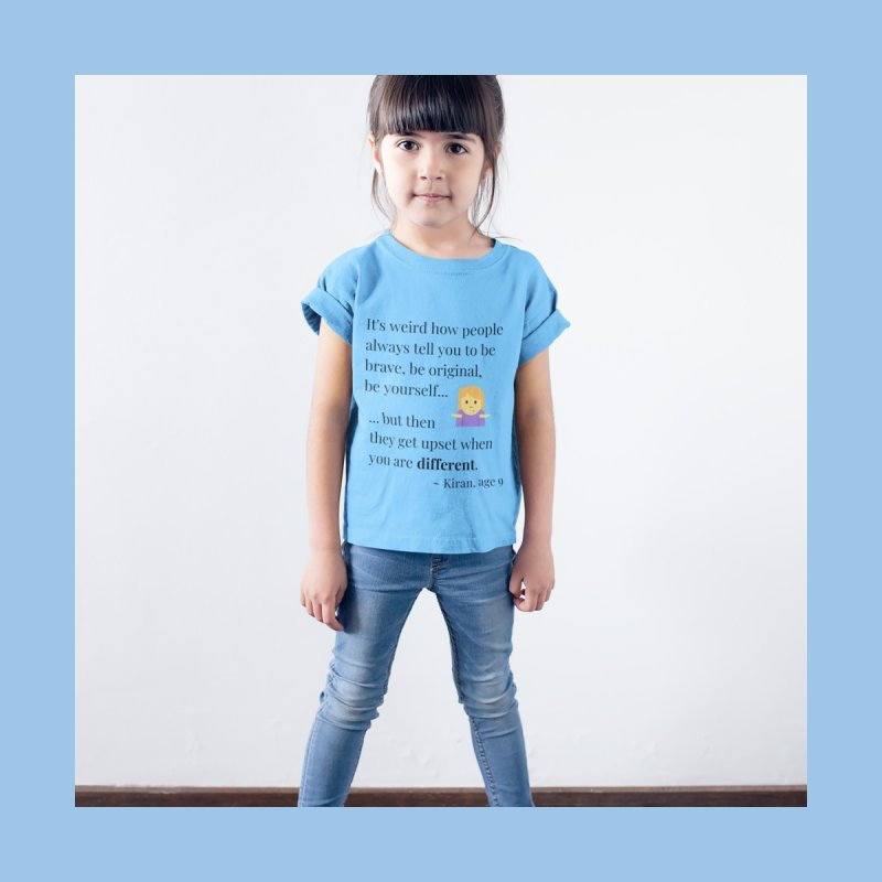 Being Different Kids Toddler Longsleeve T-Shirt by XpressYourPower Shop