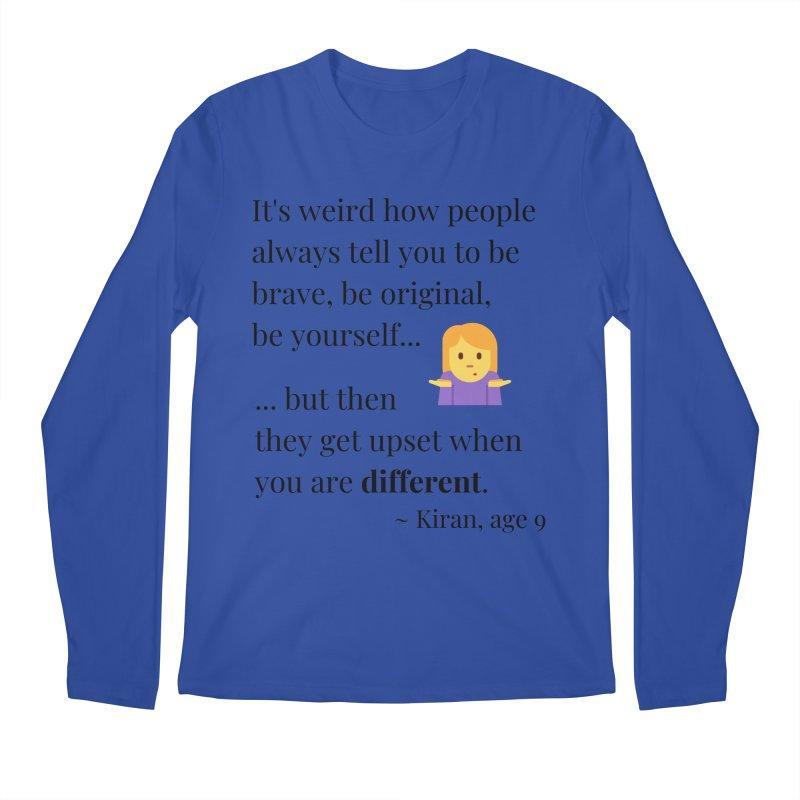 Being Different Men's Regular Longsleeve T-Shirt by XpressYourPower Shop