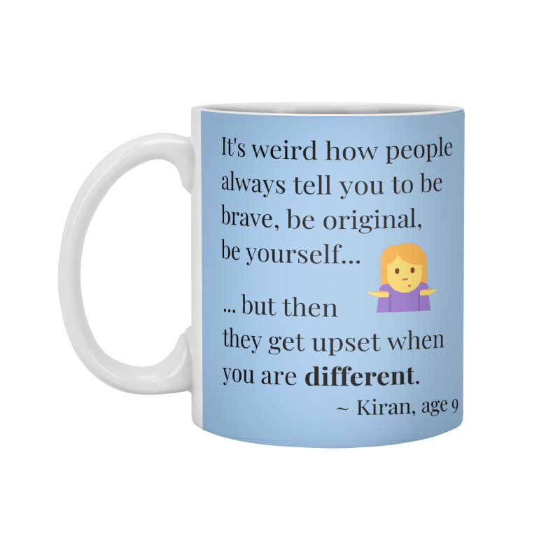 Being Different Accessories Standard Mug by XpressYourPower Shop