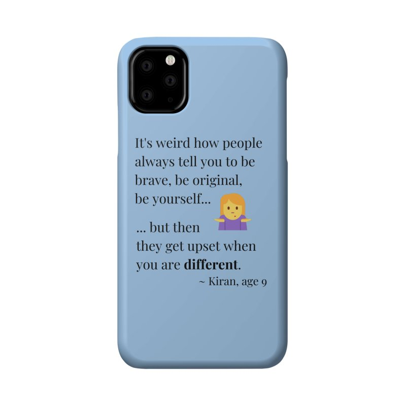 Being Different Accessories Phone Case by XpressYourPower Shop