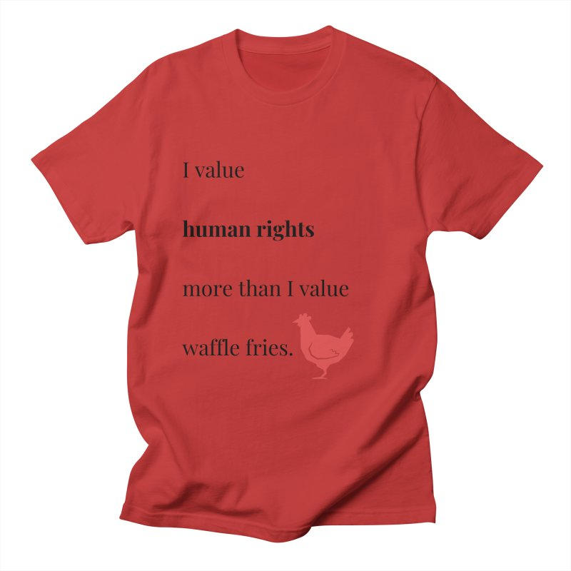 Human Rights Women's Regular Unisex T-Shirt by XpressYourPower Shop