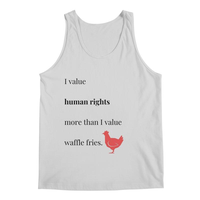 Human Rights Men's Regular Tank by XpressYourPower Shop
