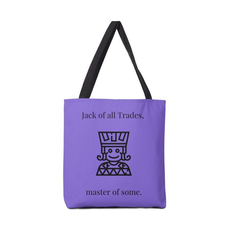 Jack of all trades Accessories Tote Bag Bag by XpressYourPower Shop