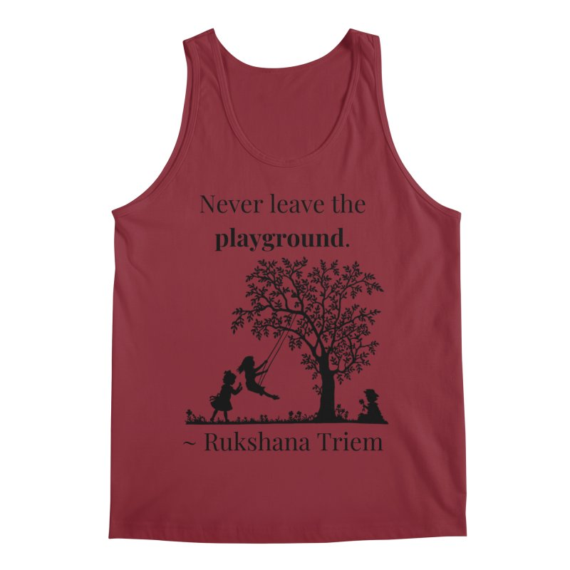 Never leave the playground Men's Regular Tank by XpressYourPower Shop