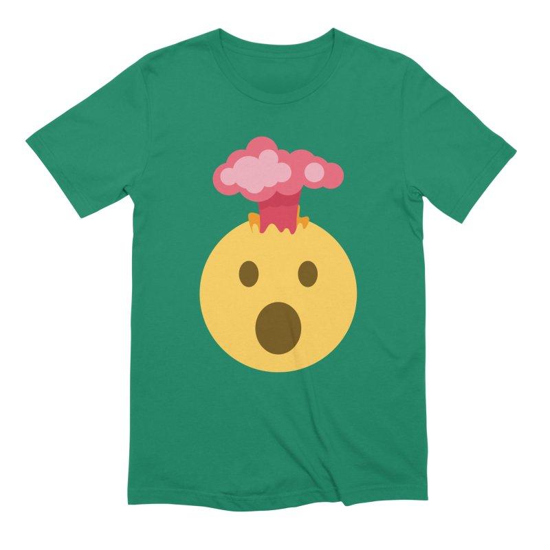 Mind Blown Emoji Men's Extra Soft T-Shirt by XpressYourPower Shop