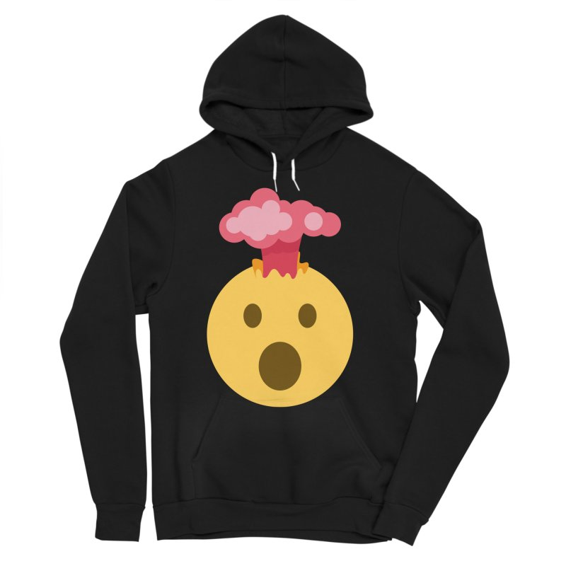 Mind Blown Emoji Women's Sponge Fleece Pullover Hoody by XpressYourPower Shop