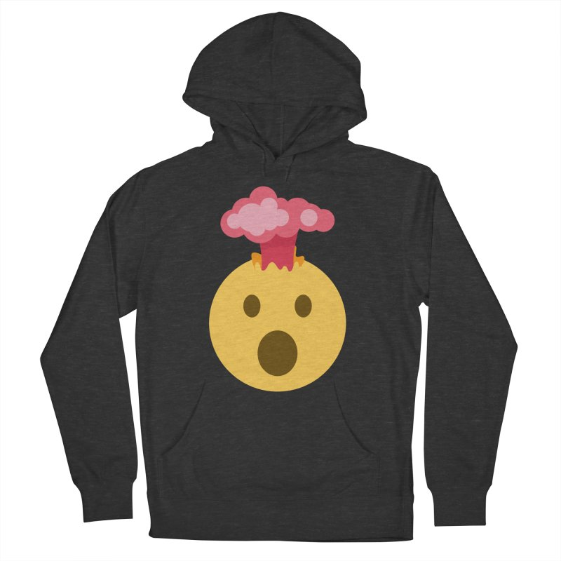 Mind Blown Emoji Women's French Terry Pullover Hoody by XpressYourPower Shop