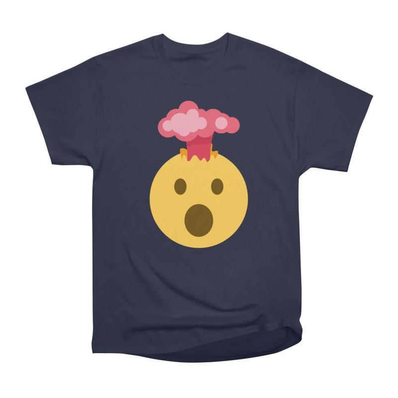 Mind Blown Emoji Women's Heavyweight Unisex T-Shirt by XpressYourPower Shop