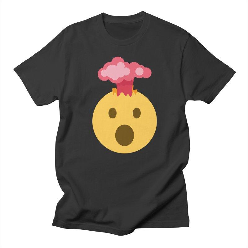 Mind Blown Emoji Women's Regular Unisex T-Shirt by XpressYourPower Shop