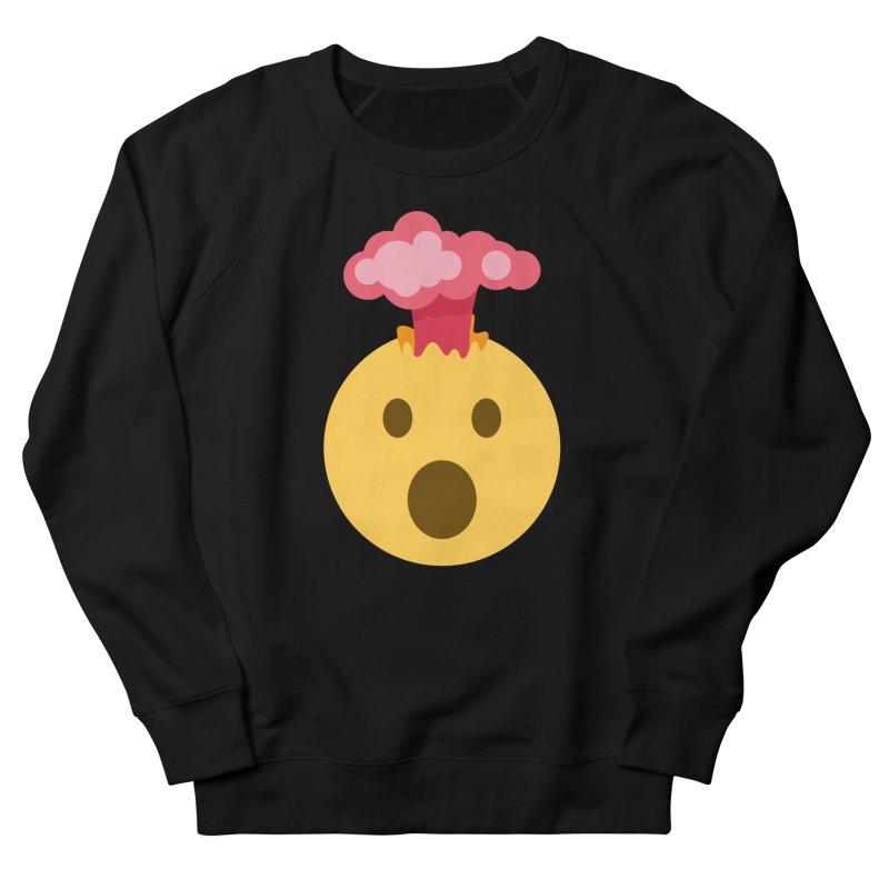 Mind Blown Emoji Women's French Terry Sweatshirt by XpressYourPower Shop