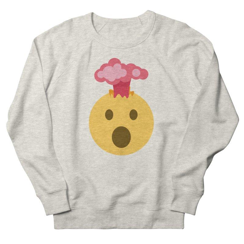 Mind Blown Emoji Men's French Terry Sweatshirt by XpressYourPower Shop