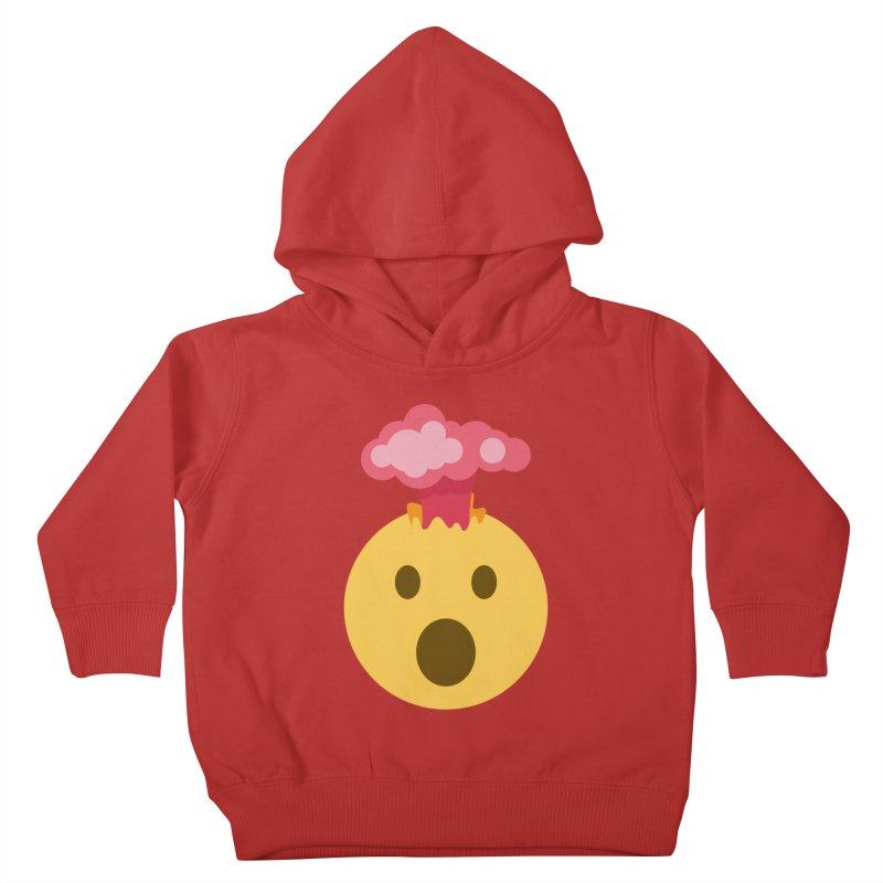 Mind Blown Emoji Kids Toddler Pullover Hoody by XpressYourPower Shop