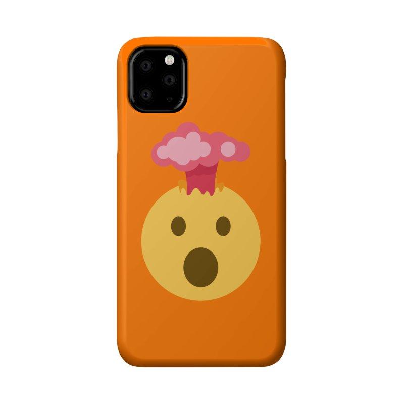 Mind Blown Emoji Accessories Phone Case by XpressYourPower Shop