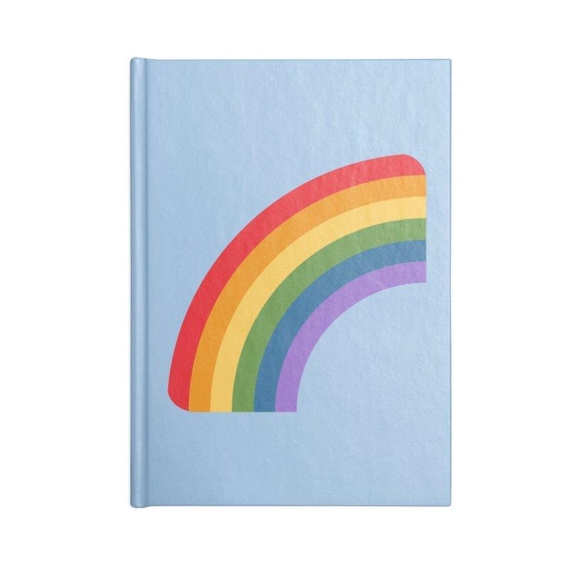 Rainbow Emoji Accessories Blank Journal Notebook by XpressYourPower Shop