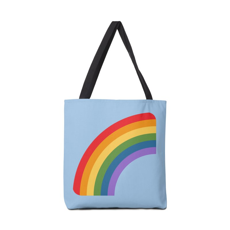 Rainbow Emoji Accessories Tote Bag Bag by XpressYourPower Shop