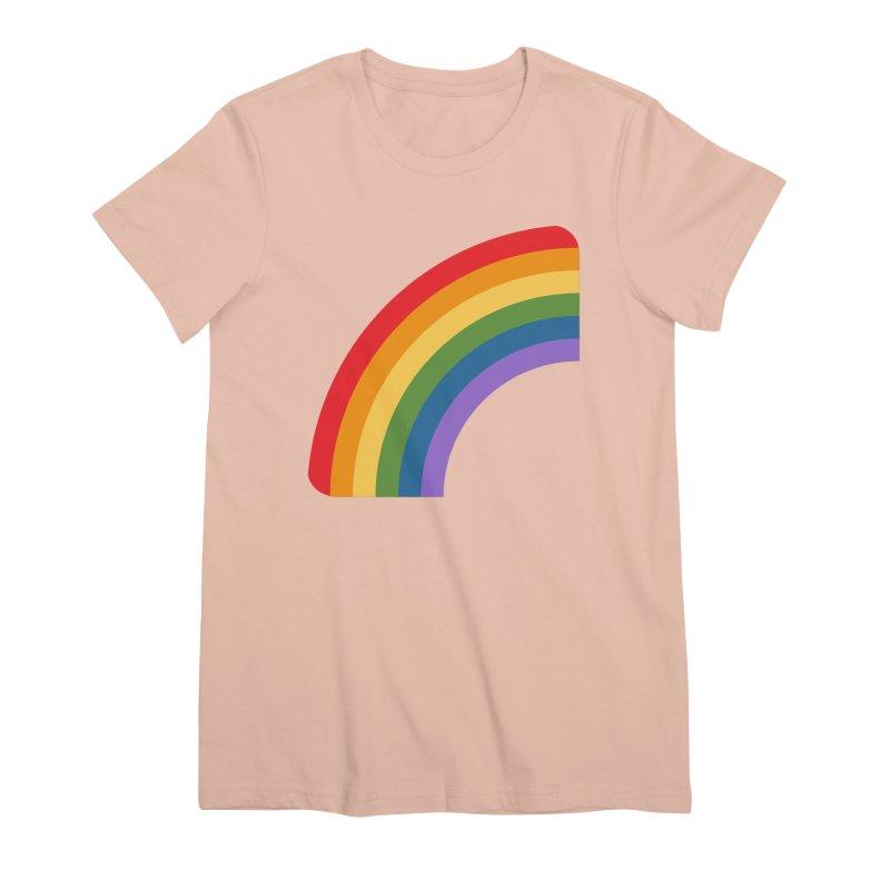 Rainbow Emoji Women's Premium T-Shirt by XpressYourPower Shop