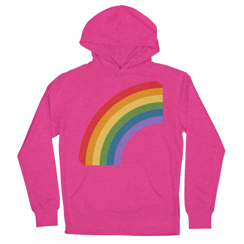 Rainbow Emoji Men's French Terry Pullover Hoody by XpressYourPower Shop