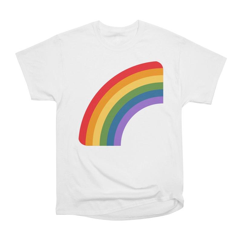 Rainbow Emoji Men's Heavyweight T-Shirt by XpressYourPower Shop