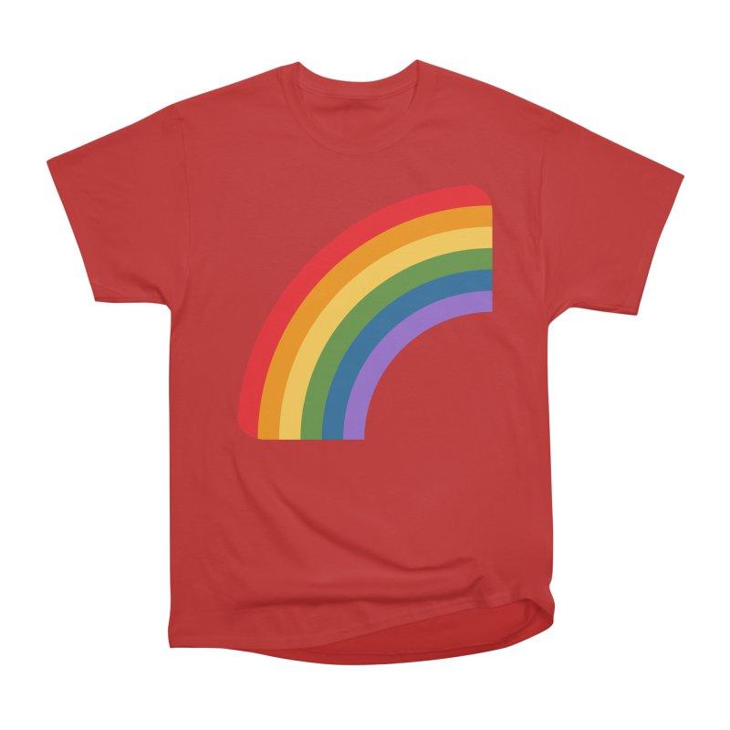 Rainbow Emoji Women's Heavyweight Unisex T-Shirt by XpressYourPower Shop
