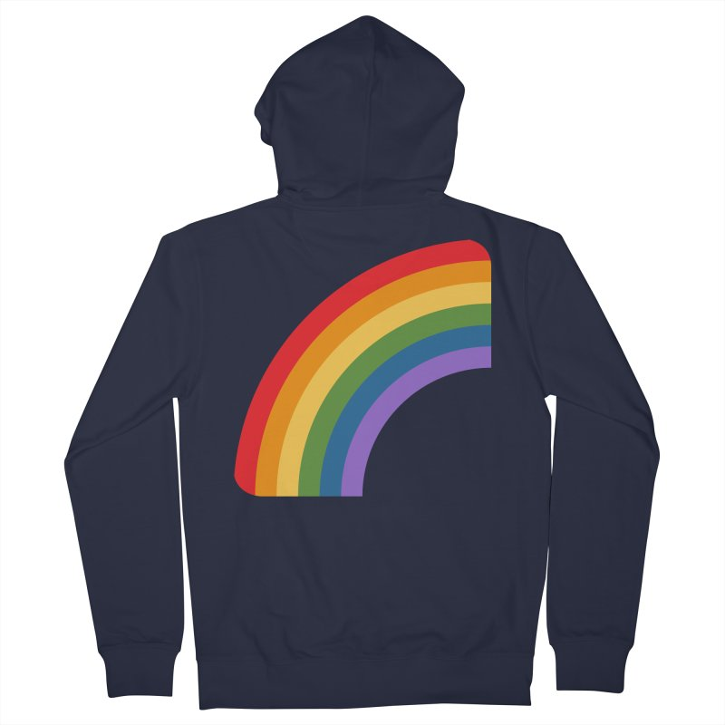 Rainbow Emoji Women's French Terry Zip-Up Hoody by XpressYourPower Shop