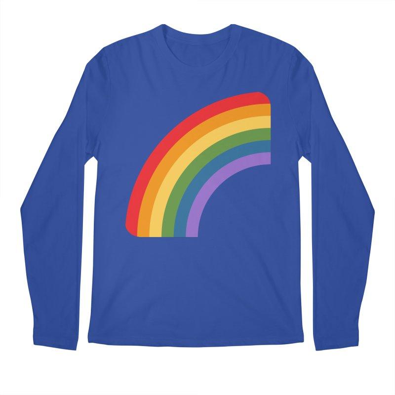 Rainbow Emoji Men's Regular Longsleeve T-Shirt by XpressYourPower Shop