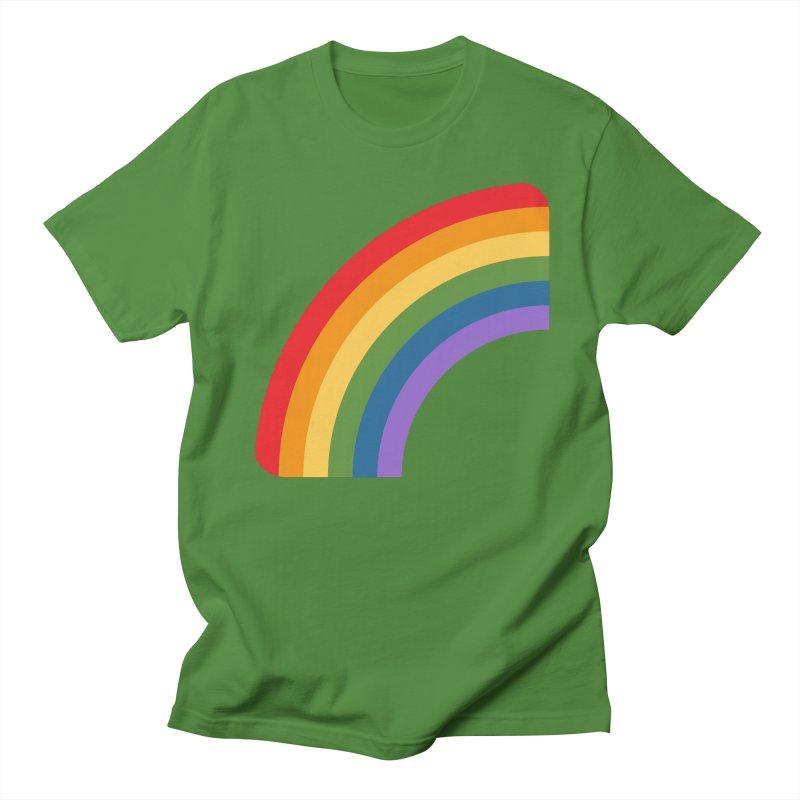 Rainbow Emoji Men's Regular T-Shirt by XpressYourPower Shop