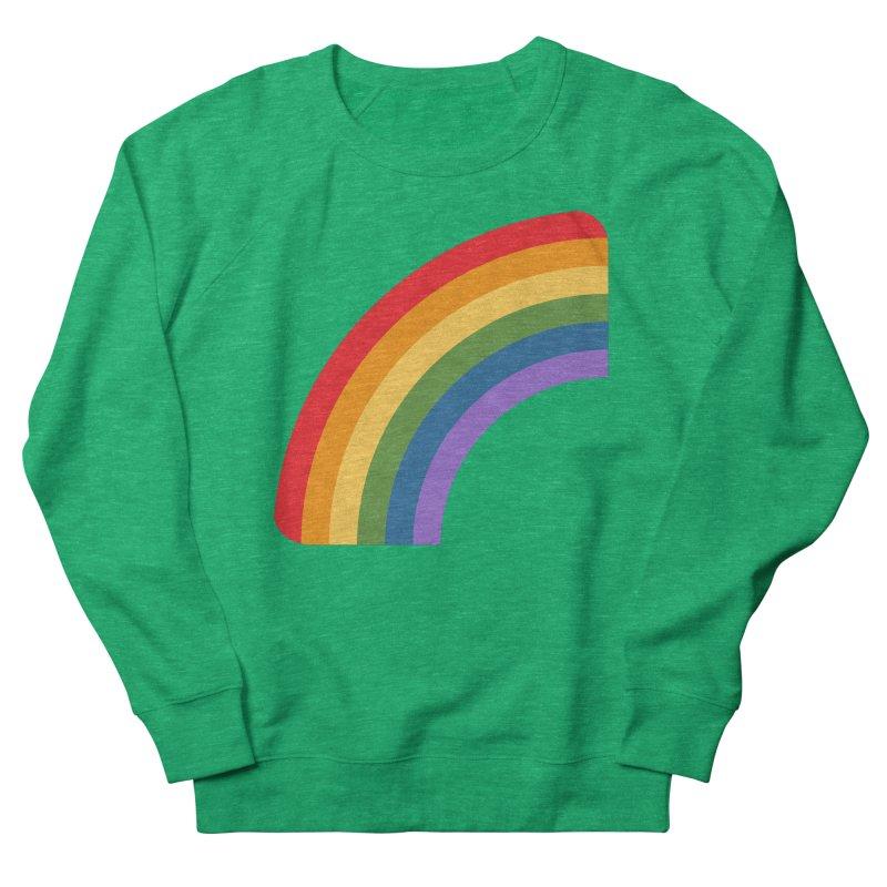 Rainbow Emoji Women's French Terry Sweatshirt by XpressYourPower Shop