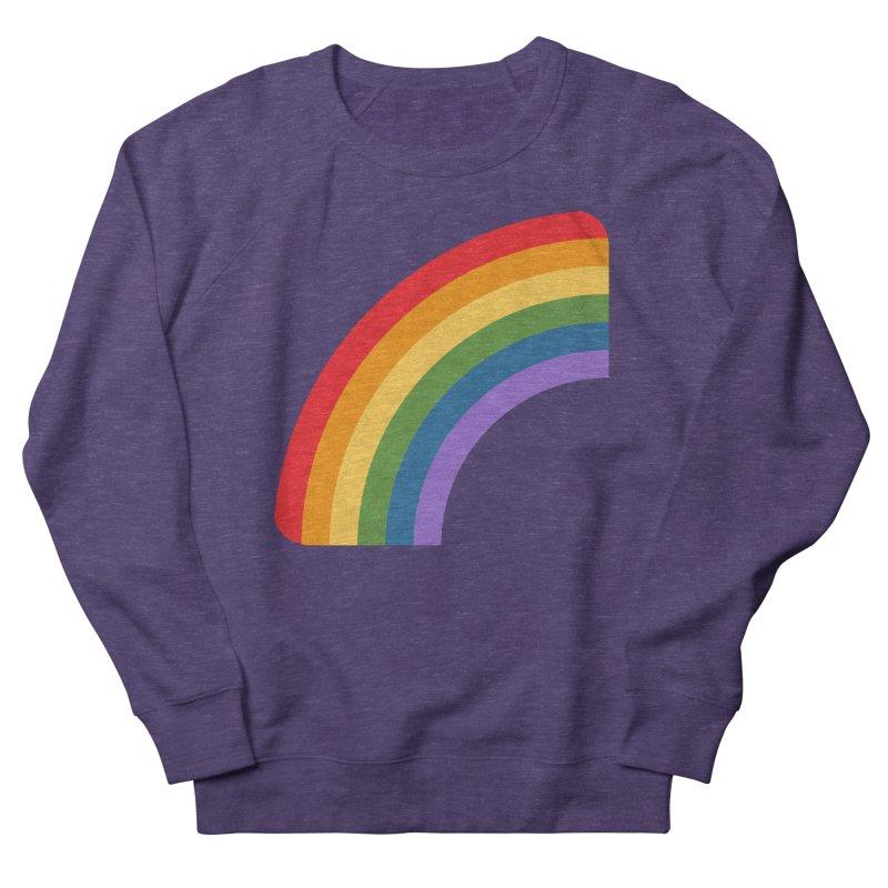 Rainbow Emoji Men's French Terry Sweatshirt by XpressYourPower Shop