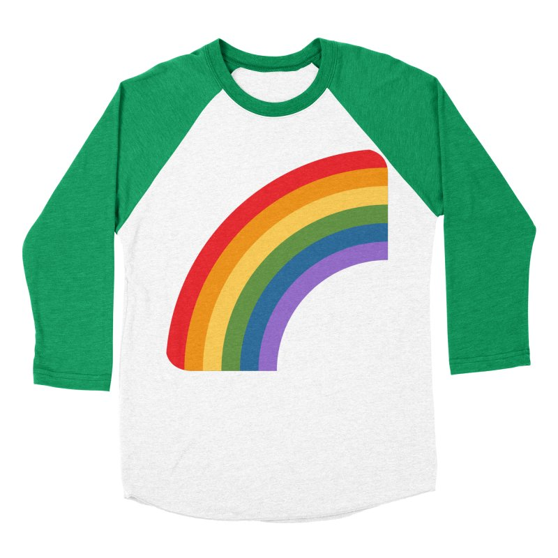 Rainbow Emoji Women's Baseball Triblend Longsleeve T-Shirt by XpressYourPower Shop