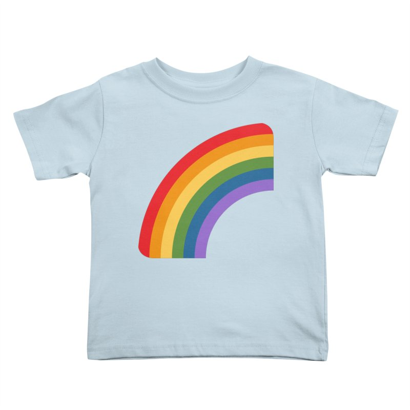 Rainbow Emoji Kids Toddler T-Shirt by XpressYourPower Shop