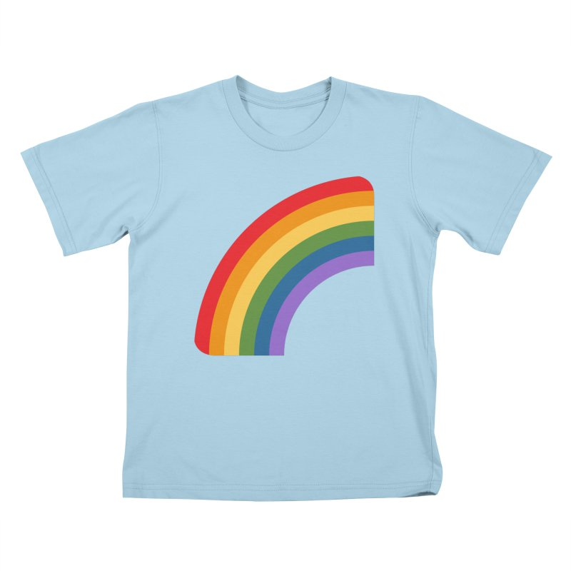 Rainbow Emoji Kids T-Shirt by XpressYourPower Shop