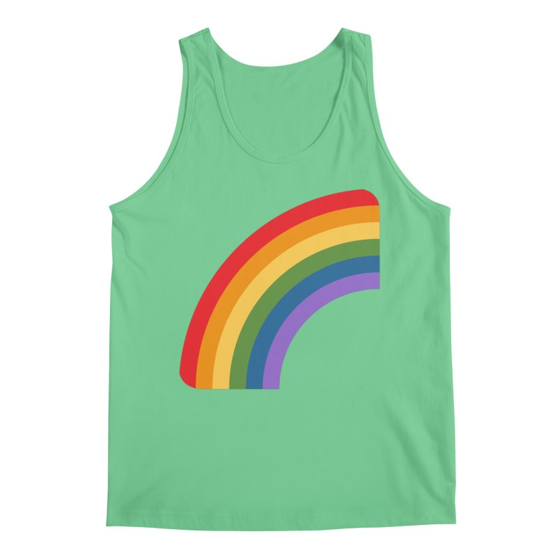 Rainbow Emoji Men's Regular Tank by XpressYourPower Shop
