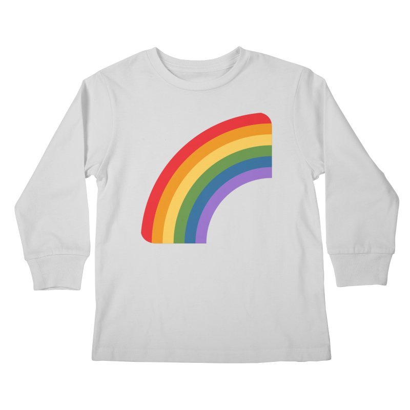 Rainbow Emoji Kids Longsleeve T-Shirt by XpressYourPower Shop