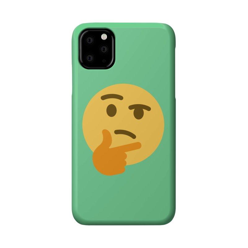 Thinking Emoji Accessories Phone Case by XpressYourPower Shop