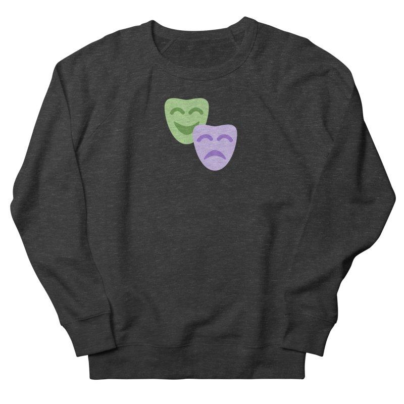 Drama Emoji Women's French Terry Sweatshirt by XpressYourPower Shop
