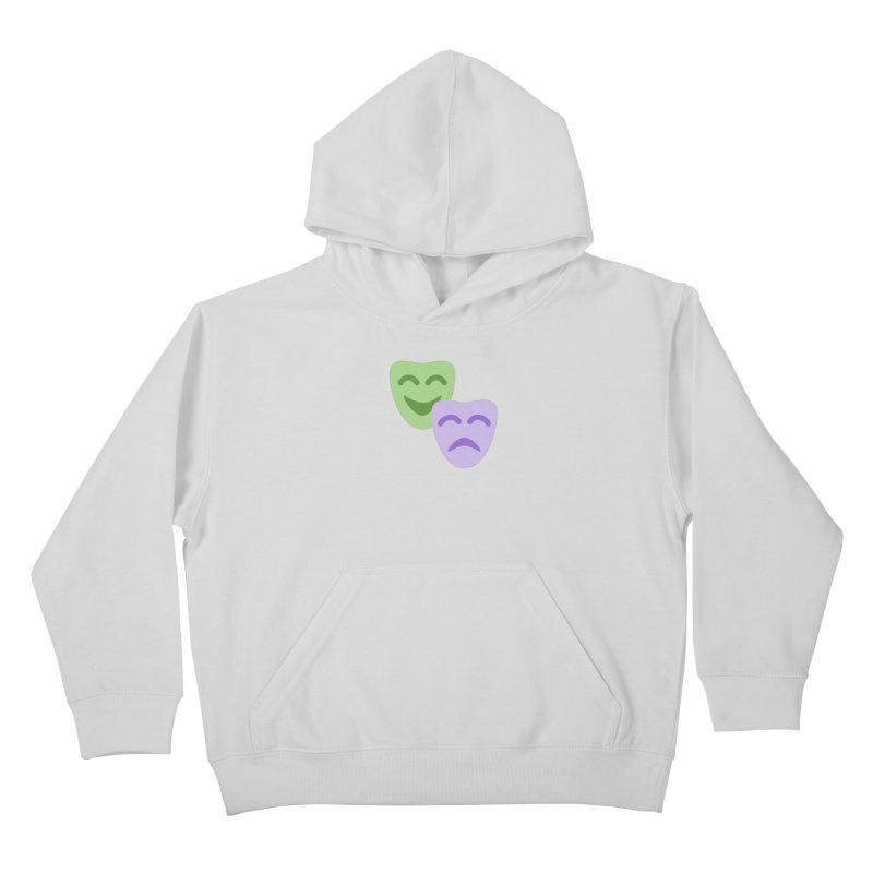 Drama Emoji Kids Pullover Hoody by XpressYourPower Shop