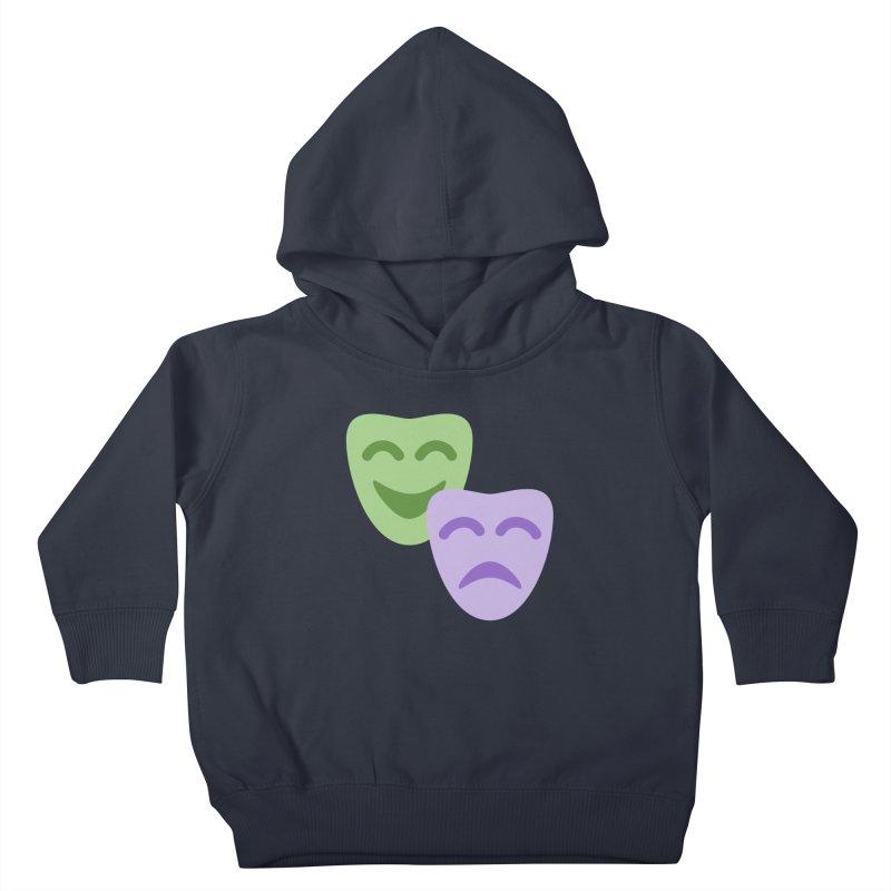 Drama Emoji Kids Toddler Pullover Hoody by XpressYourPower Shop