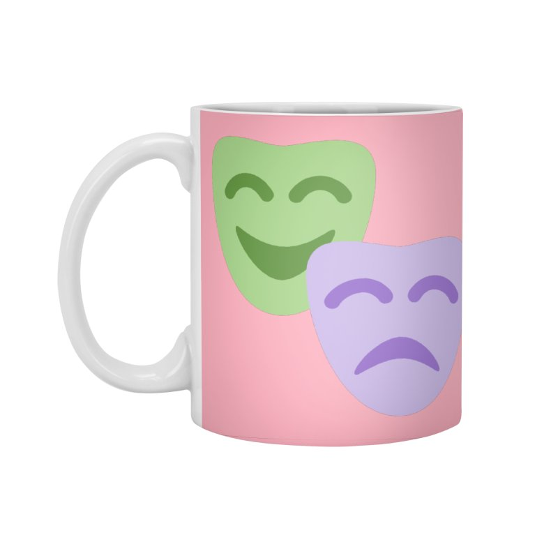 Drama Emoji Accessories Standard Mug by XpressYourPower Shop
