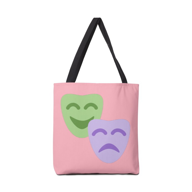 Drama Emoji Accessories Tote Bag Bag by XpressYourPower Shop