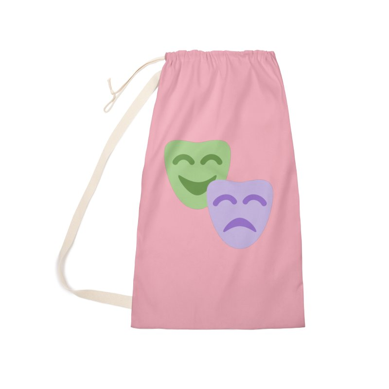 Drama Emoji Accessories Laundry Bag Bag by XpressYourPower Shop