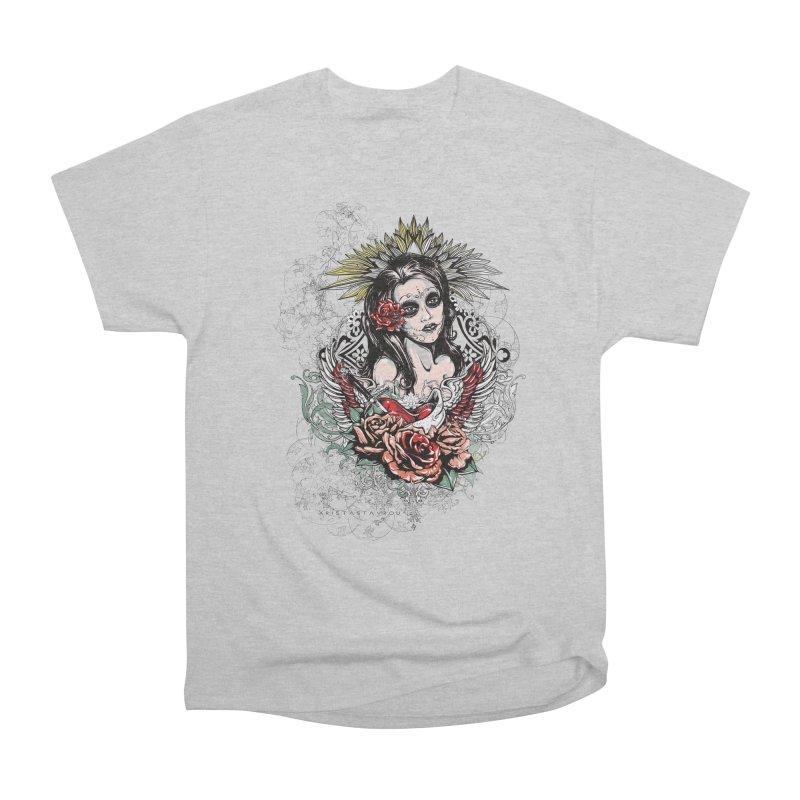 Dead Queen Men's Heavyweight T-Shirt by xristastavrou