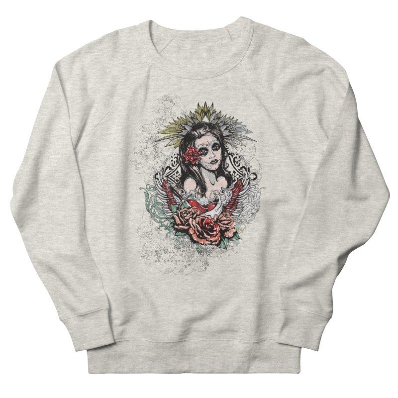 Dead Queen Men's French Terry Sweatshirt by xristastavrou