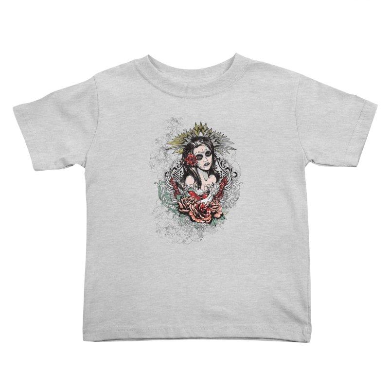 Dead Queen Kids Toddler T-Shirt by xristastavrou