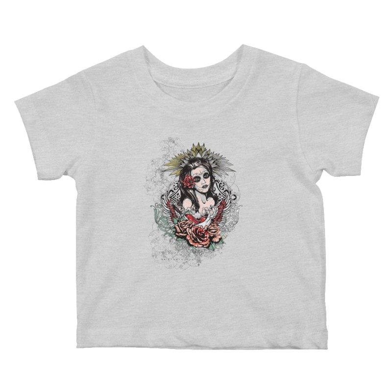 Dead Queen Kids Baby T-Shirt by xristastavrou