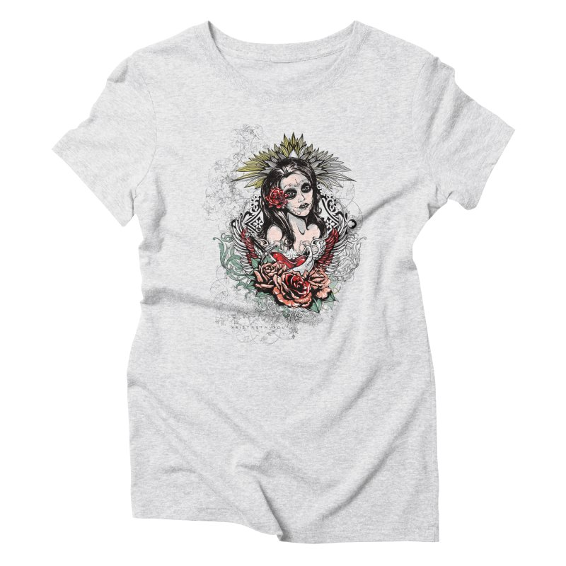 Dead Queen Women's Triblend T-Shirt by xristastavrou