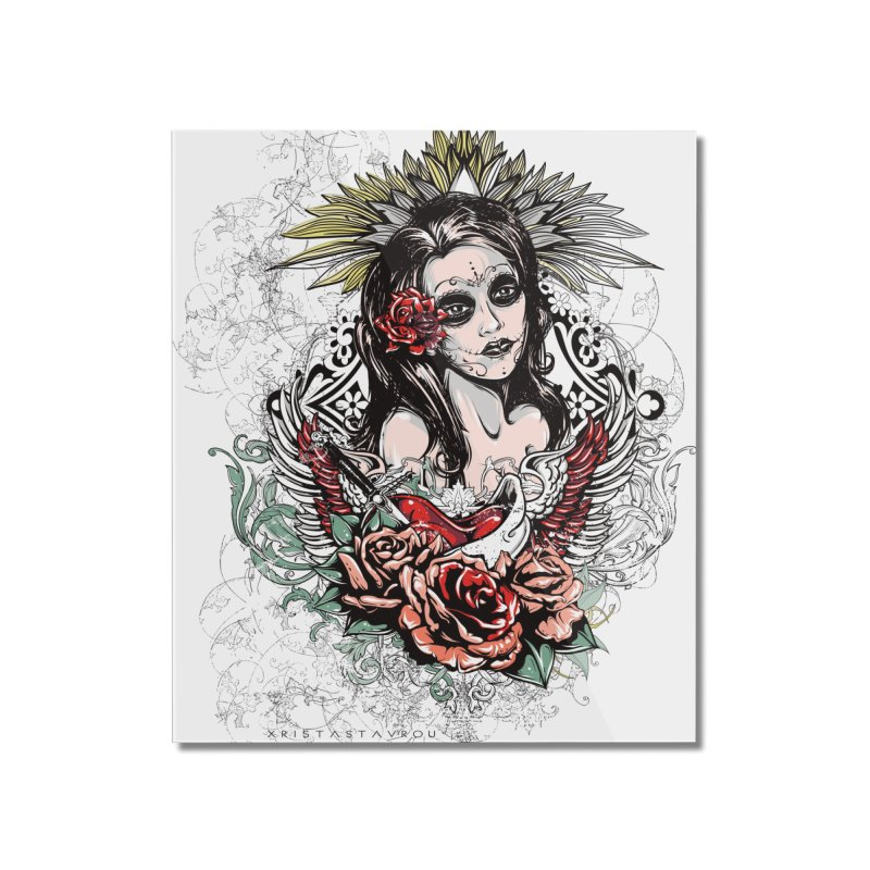 Dead Queen Home Mounted Acrylic Print by xristastavrou