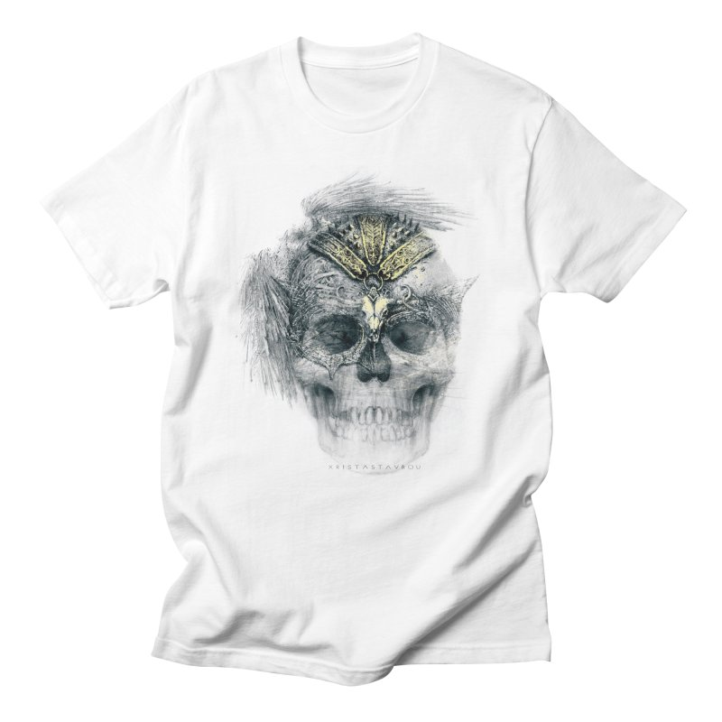 Skull Warrior Women's Regular Unisex T-Shirt by xristastavrou