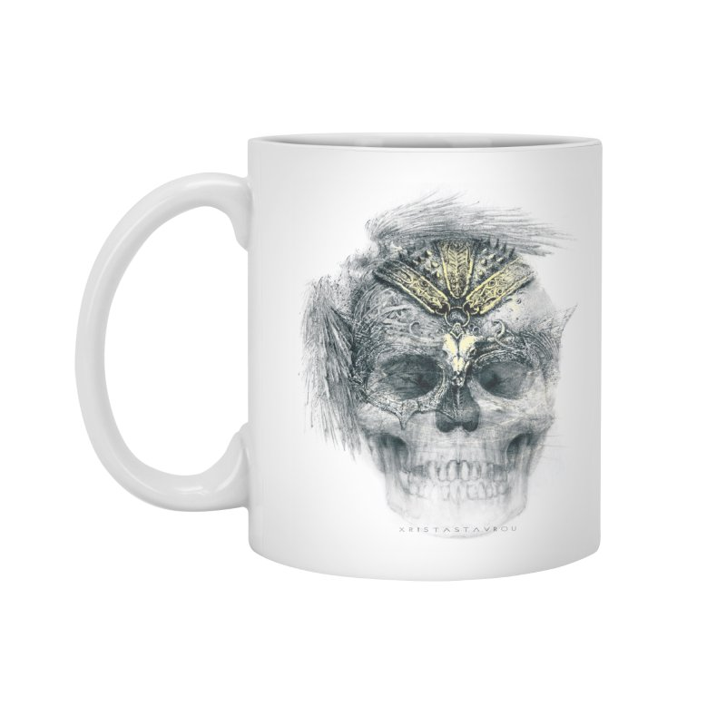 Skull Warrior Accessories Mug by xristastavrou