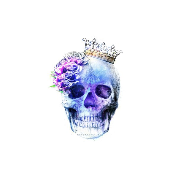 image for Skull Queen Blue