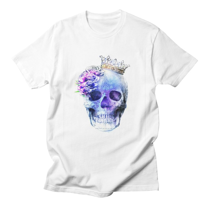 Skull Queen Blue Women's Regular Unisex T-Shirt by xristastavrou